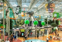 Mall of America indoor amusement park