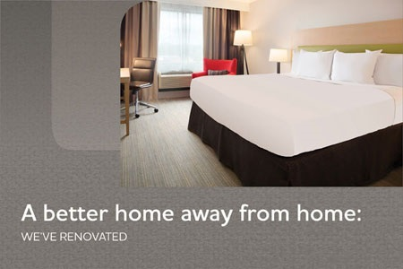 A better home away from home: We've renovated