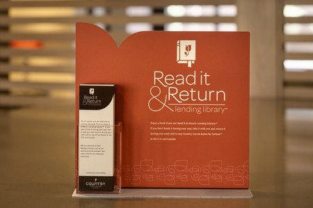 Read It & Return Lending LibrarySM sign
