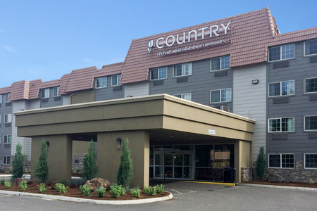 Hotel exterior of Country Inn & Suites, Portland Delta Park