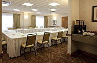 Calgary hotel meeting space with coffee service