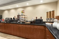 Dothan dining area with a free, hot breakfast