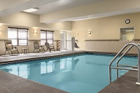 Sparkling indoor pool with natural lighting in Dothan