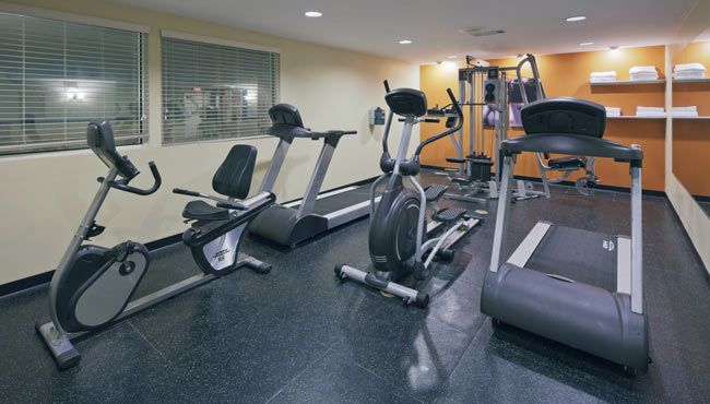 Work Out in the Fitness Center