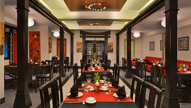 Asian Restaurant at Jalandhar Hotel