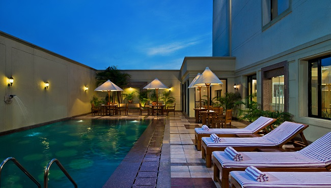 Jalandhar Hotel's Refreshing Pool