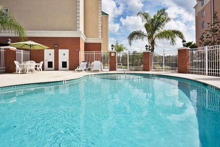 Outdoor pool at the Country Inn & Suites, Tampa/Brandon, FL