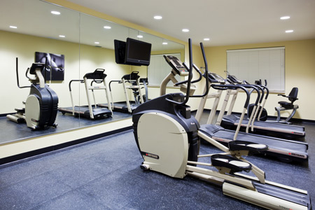 On-site Fitness Room at Port Charlotte Accommodation