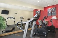 Ocala hotel's fitness center with treadmill and more