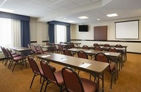 Meeting room in Buford in classroom setup