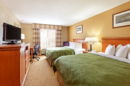 Hinesville Hotel's Guest Rooms