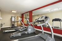 Savannah hotel's fitness center