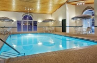 Dubuque hotel's indoor pool