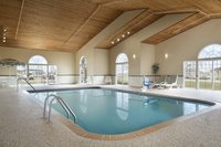 Grinnell hotel's indoor swimming pool