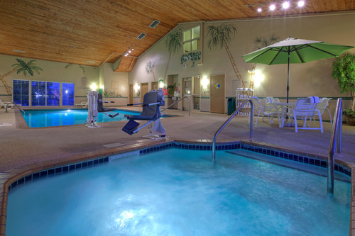 Relax in the Hotel's Indoor Pool