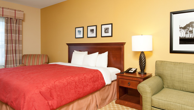 Country Inn & Suites Champaign King Room