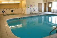 Indoor pool at the Country Inn & Suites, Galesburg, IL