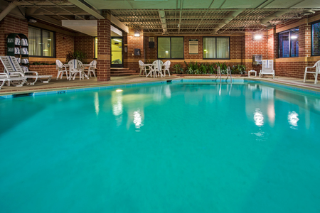 Indoor Pool At The Country Inn Suites Naperville Hotel