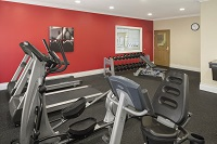 Bloomington hotel's fitness center