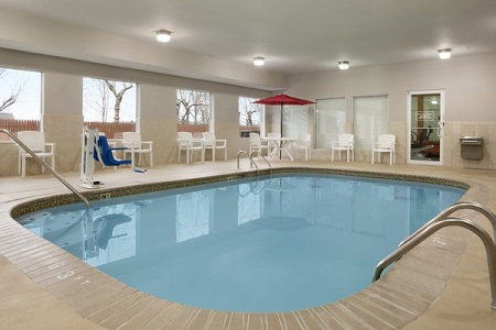Indoor pool in O'Fallon
