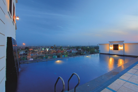 Country Inn & Suites, Amritsar Hotel's Spectacular Rooftop Pool
