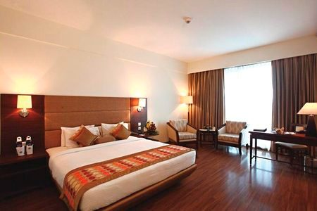 Modern Accommodations at This Amritsar Hotel