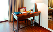 Amritsar Hotel Room with a Convenient Work Desk