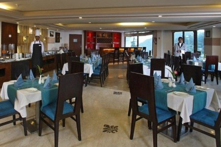 Mosaic restaurant at the Country Inn & Suites, Mussoorie