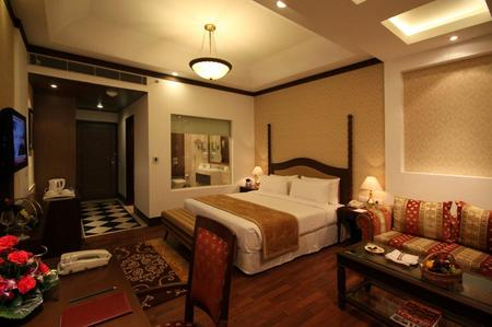 Country Inn & Suites, Delhi Hotel Room with Sofa and Desk