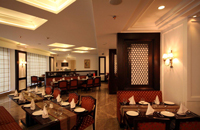 Restaurant at Delhi Hotel