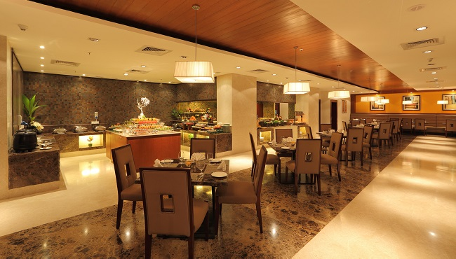 Mosaic restaurant in mysore country inn suites