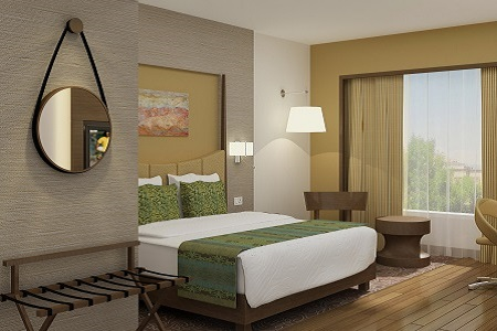 Spacious Guest Rooms at Country Inn & Suites in Gurgaon