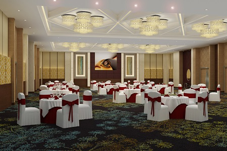Banquet Hall at Country Inn & Suites, Gurgaon Sohna Road