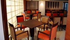 Indore hotel's on-site restaurant