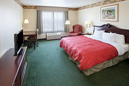 Elkhart Hotel's King Bed Guest Room