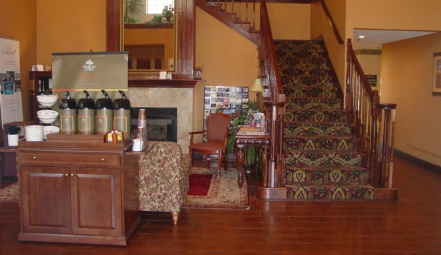 Lobby With Stairs