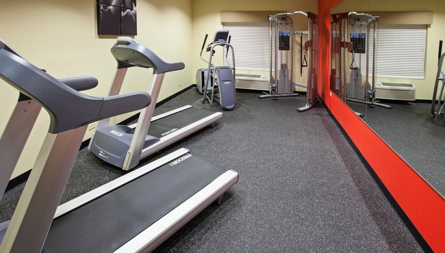 Michigan City hotel's fitness center