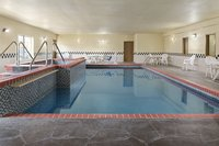 West Topeka hotel's indoor heated pool and hot tub