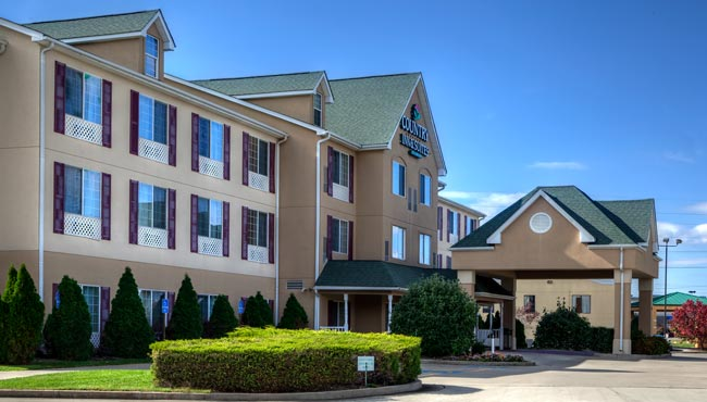 Country Inn & Suites Paducah Exterior Day