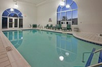 Hotel's indoor pool in Somerset