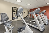 Fitness center with treadmill, elliptical and more