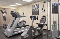 Annapolis hotel's fitness center