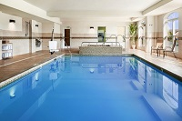Sparkling indoor pool in Lexington Park, MD