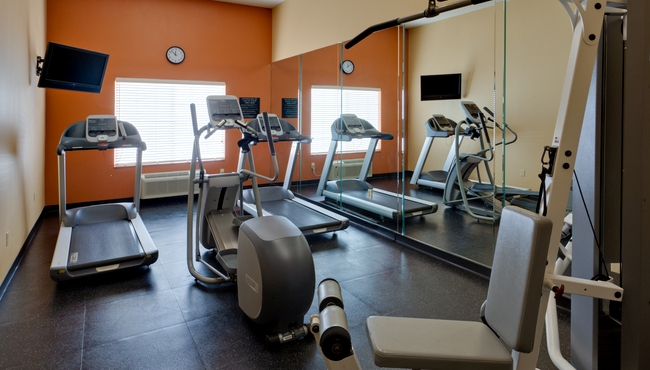 Convenient On-site Fitness Center