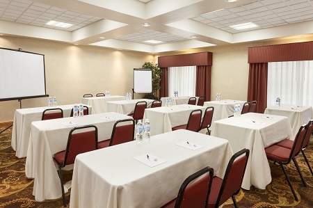 Bel Air hotel's meeting space at the Country Inn & Suites