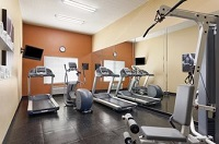 Bel Air hotel's fitness center