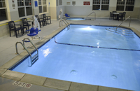 Dundee, MI Hotel's Indoor Pool with Hot Tub