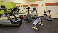 Fitness center at the Country Inn & Suites, Kalamazoo