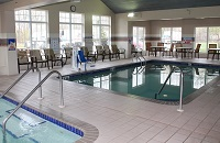 Indoor pool at the Country Inn & Suites, Brooklyn Center, MN