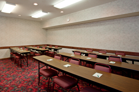 Elk River meeting room with classroom seating